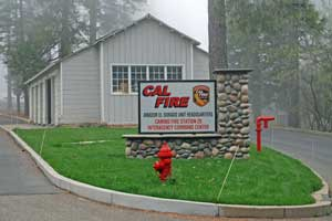 Photo of Cal Fire station, Camino,  CA