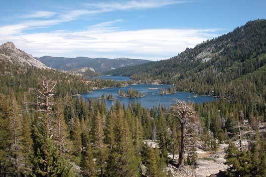photo of Echo Lakes in the Desolation Wilderness, CA