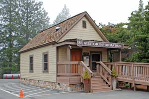 Eldorado National Forest Offices Photo Of Placerville Ranger Station Ca