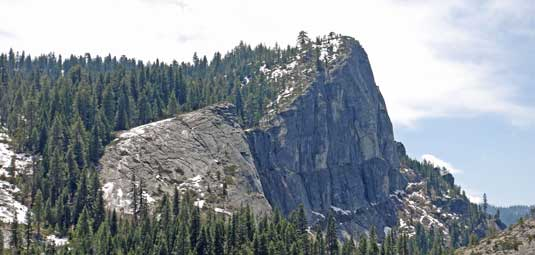 photo of Lovers Leap on Highway 50 near Echo Summit, CA