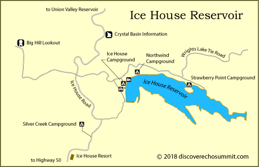 Ice House Reservoir Camping
